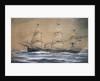 HMS 'Bacchante' (1876) by H. Whitehead