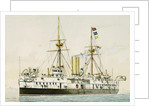 HMS 'Colossus' (1887) by unknown
