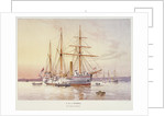 HMS 'Bramble' by William Frederick Mitchell
