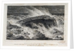Sketch of the wreck of The Winterton, on Tuesday evening 21 August 1792 by William Home Lizars