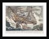 The wreck of the East Indiaman 'Hindostan' by John Fairburn