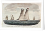 A Virginia pilot-boat with a distant view of Cape Henry at the entrance of the Chesapeake by G. T.