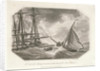 The loss of the East Indiaman 'Abergaveny' off the isle of Portland by Richard Corbould