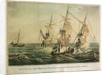 Part of the crew of the East Indiaman 'Abergaveny', delivered from their perilous situation by Thomas Tegg