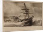 Naufrage du Vaisseau le Superbe dans le port de Paskia, ile de Paros le 15 Decembre 1833 by P. Gilbert