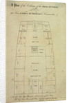 A plan of the cabins of the brig 'Funchal' of London, 190 tons, James Mcpherson, Commander by unknown