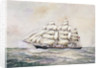 'Cutty Sark' (1869) by J. E. Cooper