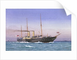 Royal yacht 'Osborne' (1870) by W. Fred Mitchell