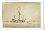 P&O vessel SS 'Hindostan' leaving Southampton to open the Indian Mail Service, 24 September 1842 by unknown