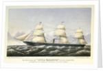 The screw steam ship 'City of Washington' by John R Isaac