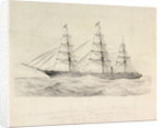 The Liverpool & Australian Navigation Company's Steam Clipper 'Royal Charter' by Francis Boyce Commander