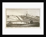 Prospect of the bowling green at Whitehall by Tangier by Wenceslaus Hollar