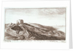 Prospect of the grounds about Henrietta Fort by Wenceslaus Hollar