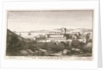 Prospect of the west side of Yorke Castle at Tangier, right opposite to y upper Castle, taken from the hill before the gate 1669 by Wenceslaus Hollar