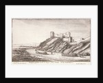 Prospect of Yorke Castle at Tangier, from y Strand, and the northwest by Wenceslaus Hollar