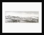Prospect of Tangier from the southwest by Wenceslaus Hollar