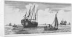 A herring buss by Roeland Roghman