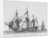 Batimens de transports anglais embarquant des effets militaires. Plate 32. in Collection de Toutes les Especes de Batimens... 3eme Livraison by Baugean