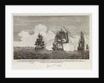 The taking of the Spanish Frigates 'Phenix' and 'Thetis' by HM frigate 'Alarm' near Havanna by Philip Osbridge