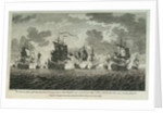 Twelve Prints of Sea Engagements. The Defeat of a French Squadron, commanded by Monsr de la Clue, off Cape Lagos, on the 18th of August 1759, by a Squadron of his Majesty's Ships under the Command of the Rt Honble Edwd. Boscawen Adml of the Blue by Francis Swaine