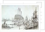 'Trafalgar' in the Basin Sheerness by Chatfield & Coleman