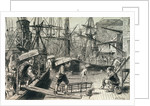 Sailors disembarking by Matthew White Ridley