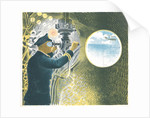 Officer looking through a periscope (from the 'Submarines' series) by Eric Ravilious