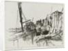 Bermondsey wharfs by Nathaniel Kornbluth