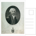 Sir Richard King Bart. Admiral of the White Squadron by William Ridley