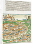 Page from 'The Nuremberg Chronicle' by Hartmann Schedel by unknown