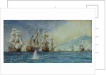 The Battle of Trafalgar (Santissima Trinidad) by William Lionel Wyllie