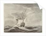 Sutherland' hospital ship commanded by Sir John Bentley 1741-1744 by John Hood