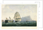'Belleisle' in tow of the 'Naiad' on 23 October 1805 by P.H. Nicolas