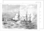 The paddle frigate 'Furious' by British School