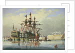 Ships in ordinary at Devonport by Nicholas Matthew Condy
