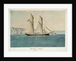 HM Schooner 'Beagle', 120 tons by Lieutenant Francis H. Boyer