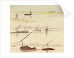 Shipping on the Nile by Edward Lear