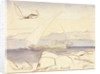 Shetaal, Egypt by Edward Lear