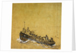A naval long-boat by Oswald Walter Brierly