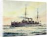 Pelorus class cruiser 1895 by William C. Cluett