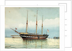 Royal George Royal yacht of George IV, William IV & Queen Victoria by William C. Cluett