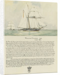 Boarding of the Spanish slave schooner Esperance by midshipman William Mansell commanding the gig of HMS Morgiana December 1817, with a biography of William Mansell below by Irwin Bevan