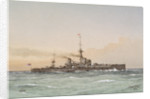HMS 'Dreadnought' no. 2655 by William Frederick Mitchell