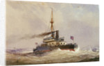HMS 'Devastation' by William Frederick Mitchell