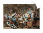 Shipmates carousing on shipboard by William Henry Pyne
