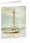Study of a yacht by William Lionel Wyllie