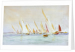 Yachts, Southsea by William Lionel Wyllie