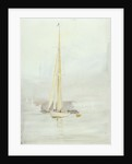 White yacht by William Lionel Wyllie