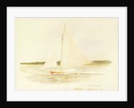 Sailing dinghy Maid of Kent by William Lionel Wyllie