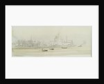 Greenwich Reach and the Isle of Dogs by William Lionel Wyllie